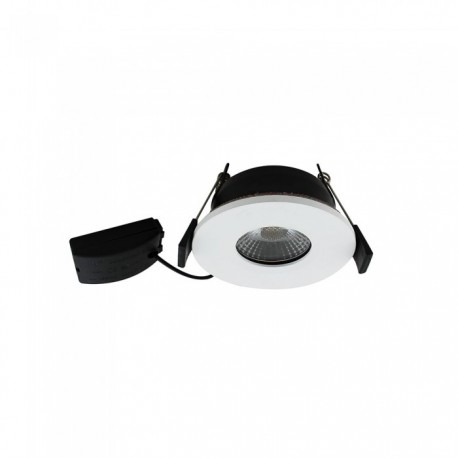 V-Tac 7W LED downlight - Hull: Ø7,2 cm, Mål: Ø8,5 cm, dimbar, 230V