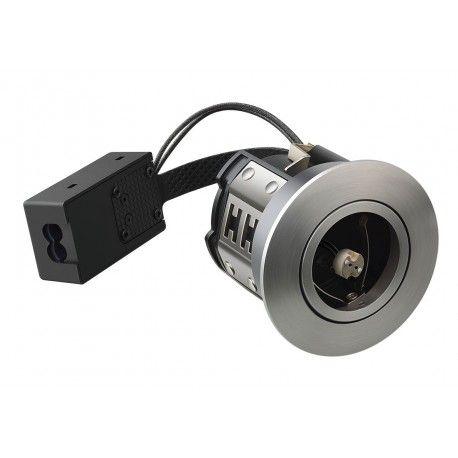 LEDlife Inno88 - MR16, børstet alu, IP44, direkte i isolasjon