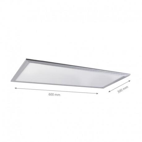 60x30 20W LED panel - 1800lm, hvit kant