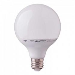 E27 LED V-Tac 17W LED globe pære - Samsung LED chip, Ø12 cm, E27