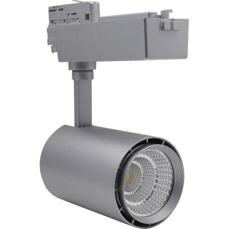 Restsalg: LEDlife skinnespot 30W - Flott design, 3-faset