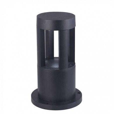 V-Tac 10W LED hage lampe - Svart, 25 cm, IP65, 230V