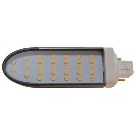 LEDlife G24Q-DIRECT8 LED pære - HF ballast kompatibel, 120°, 8W