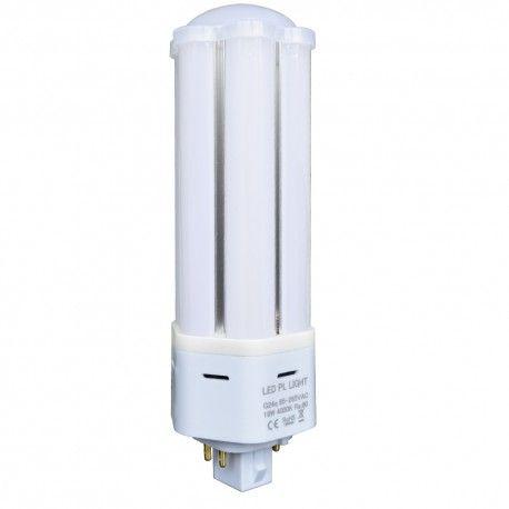 LEDlife G24Q-DIRECT9 LED pære - HF ballast kompatibel, 360°, 9W