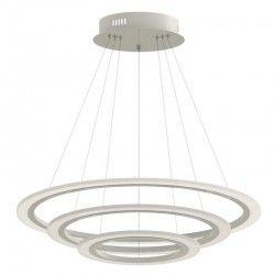 LED pendel V-Tac 70W dimbar lysekrone med 3 ringen - Soft lys, Ø60 cm