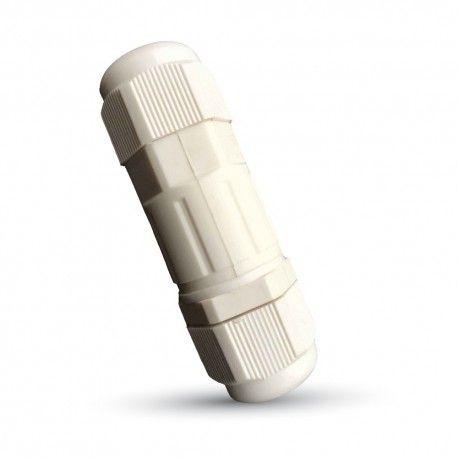 V-Tac hvit rund koblingsboks - Til å montere ledninger, IP68 vanntett