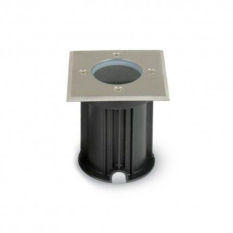 V-Tac uplight hagelys - Firkantet, rustfritt stål, GU10 fatning