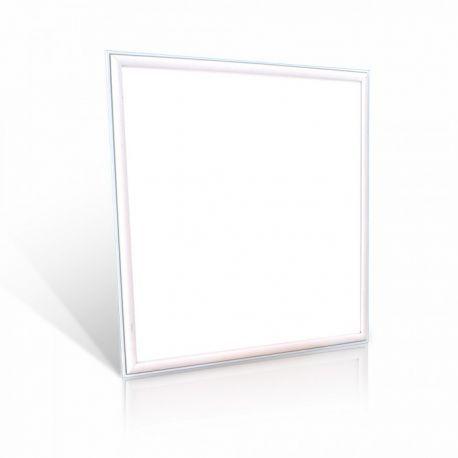 V-Tac 60x60 LED panel - 36W, 4320lm, 120lm/w, hvit kant