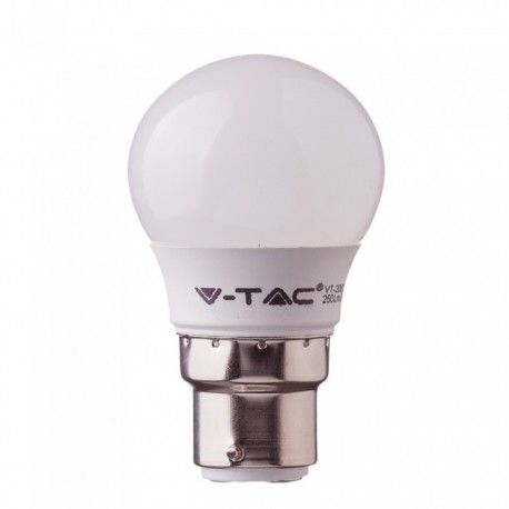 V-Tac 5,5W LED pære - Samsung LED chip, G45, B22