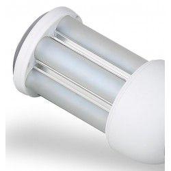 G24 LED GX24Q LED pære - 10W, 360°, mattert