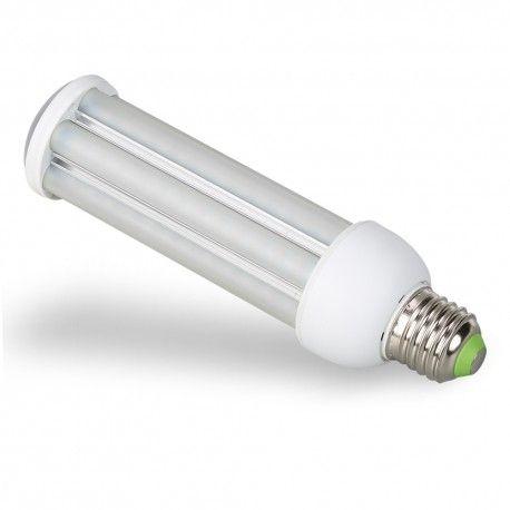 E27 LED pære - 24W, 360°, mattert