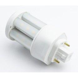G24 LED GX24D LED pære - 5W, 360°, mattert