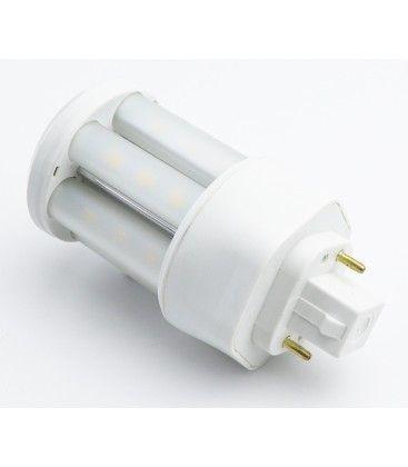 GX24D LED pære - 5W, 360°, mattert