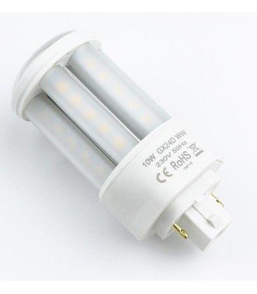 LEDlife GX24D LED pære - 10W, 360°, mattert