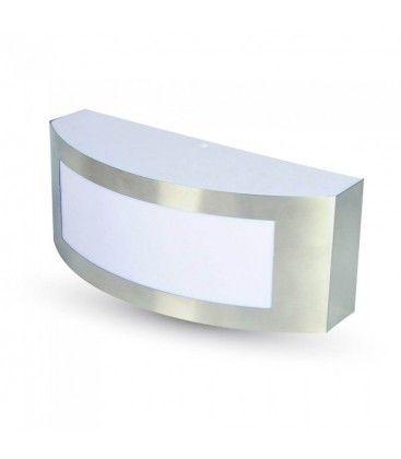 V-Tac LED vegglampe - IP44 utendørs, Med E27 fatning, 230V, uten lyskilde