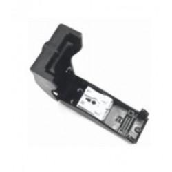 Transformator Samleboks med quickconnector - 2-pol, strekkavlaster, svart