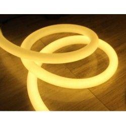 230V Neon Flex Varm hvit D16 Neon Flex LED - 8W per meter, IP67, 230V