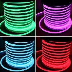 LED strips 8x16 Neon Flex LED - 18W per meter, rgb, IP67, 230V