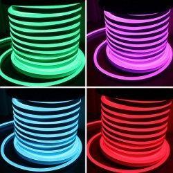 230V RGB Neon Flex RGB 8x16 Neon Flex LED - 18W per meter, IP67, 230V