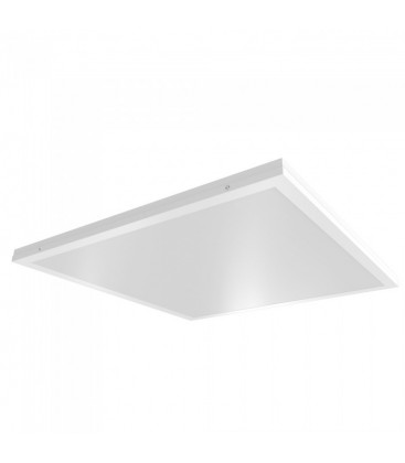 V-Tac LED panel 60x60 - 40W, 4000lm, innebygd i hvit ramme
