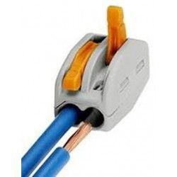 Tilbehør Skrueløs kabelskjøter til 2 ledninger