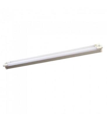 V-Tac 150 cm dobbelt LED armatur - Inkl. 2 stk. 22W LED rør, IP20