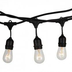 Flomlys V-Tac lysslynge til 15 stk. E27 pærer - 15 meter, IP54, 230V, uten lyskilde