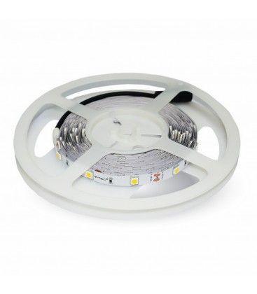 V-Tac 3,6W/m LED stripe - 5m, 8mm bred, 60 LED per meter