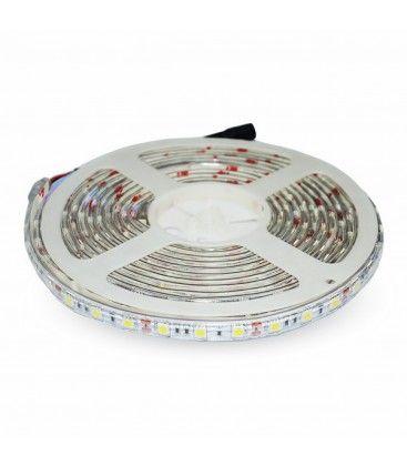 V-Tac 10,8W/m sprutsikker LED strip - 5m, 60 LED per meter