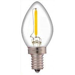 LED lyskilder LEDlife 0,7W mini pære - Dimbar, 230V, E14
