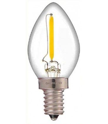 LEDlife 0,7W mini pære - Dimbar, 230V, E14
