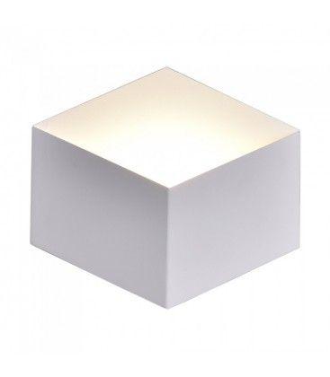 V-Tac 3W LED vegglampe - Hvit, IP20 innendørs, 230V, inkl. lyskilde