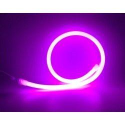 LED strips D16 Neon Flex LED - 8W per meter, lilla og rosa, IP67, 230V