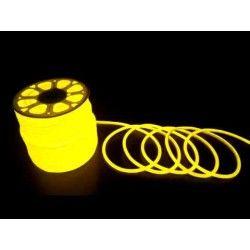 D16 Neon Flex LED - 8W per meter, gul, IP67, 230V