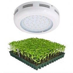 LED UFO vekstlampe, 90W (43 x 3W LED), 230V, Grow lamp