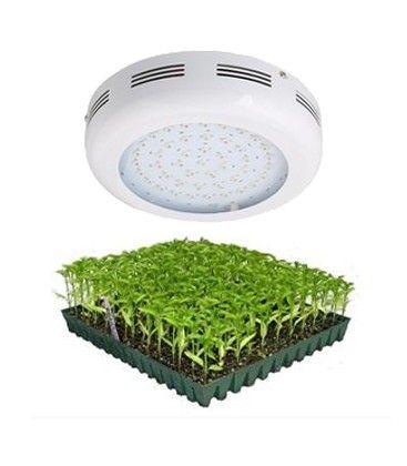 LED UFO vekstlampe, 90W, Grow lamp, 230V