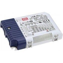 Store paneler Meanwell LCM-40 0-10V dimbar driver til LED panel - Passer våre 29W LED paneler