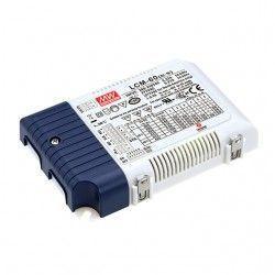 Store paneler Meanwell LCM-60 0-10V dimbar driver til LED panel - Passer til vår 45W LED paneler