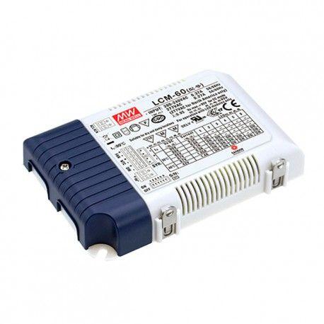 Meanwell LCM-60 0-10V dimbar driver til LED panel - Passer til vår 45W LED paneler
