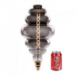 E27 LED V-Tac 8W LED kjempe globepære - Karbon filamenter, Ø20 cm, dimbar, ekstra varm hvit, E27