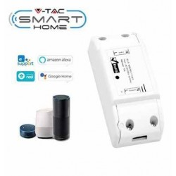 Smart Home Enheder V-Tac Smart Home Wifi bryter - Virker med Google Home, Alexa og smartphones