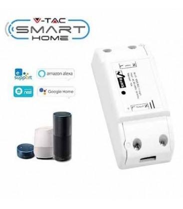 V-Tac Smart Home Wifi bryter - Virker med Google Home, Alexa og smartphones