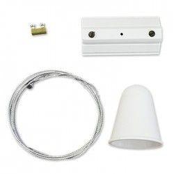 Lamper V-Tac wireoppheng for skinner - Hvit, passer til V-Tac skinner, 3-faset