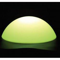 Lamper V-Tac LED Half Round Ball RGB D50*26CM