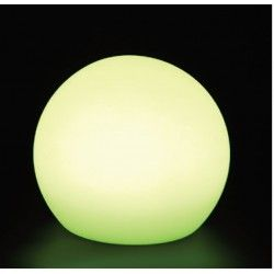 V-Tac RGB LED kule - Oppladbart, med fjernkontroll, Ø30 cm