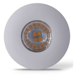 Møbel og skap LEDlife Inno69 møbelspot - Hull: Ø5,5 cm, Mål: Ø6,9 cm, RA95, matt hvit, 6V