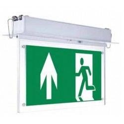 Lamper V-Tac taklampe LED exit skilt - 2W, Samsung LED chip