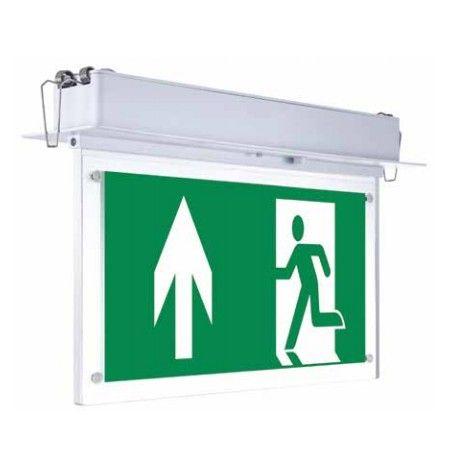V-Tac taklampe LED exit skilt - 2W, Samsung LED chip
