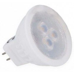 3W LED spotpære - Keramisk, 35mm, 12V, MR11 / GU4