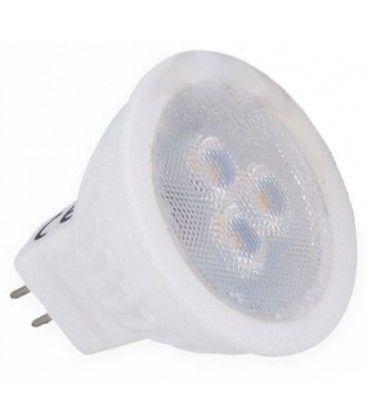 MR11 LED spotpære - 3W, 12V, Keramisk, MR11